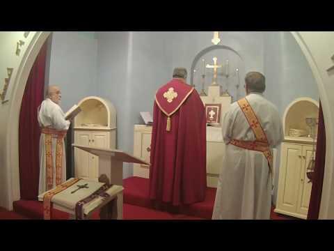 Mass for  the Assyrian Church of the East - Mar Shimun Bar Sabbai Parish, Flint MI