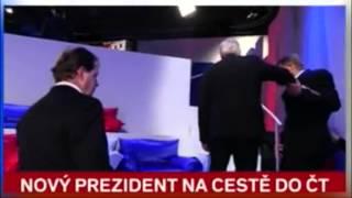 Zeman - opilý prezident