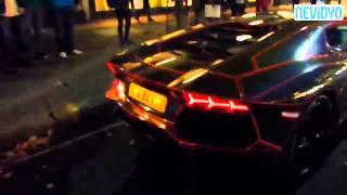 Hava atayım derken Lamborghini'yi yakıyordu