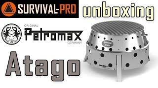 unboxing Petromax Atago - Barbecue-Grill