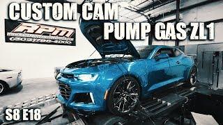 2018 ZL1 Makes HUGE gains on Pump Gas | RPM S8 E18
