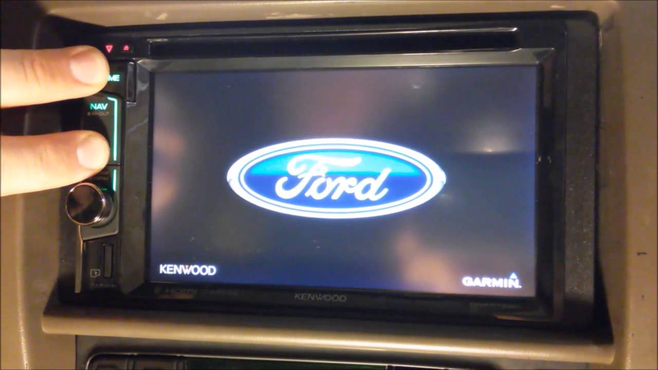 Kenwood Double Din Wiring Diagram For Boat Trailer How To Change Custom Splash Screen Dnx572bh Youtube