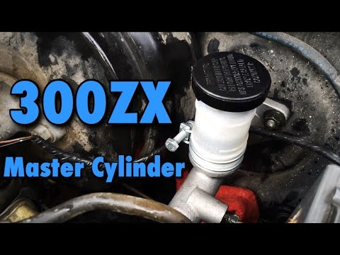Nissan 300zx Clutch Master Cylinder Replacement
