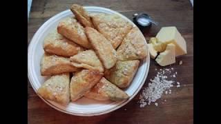 Как приготовить вкусную выпечку к завтраку ( сырные сконы) . Рецепт второй.Cheese buns for breakfast