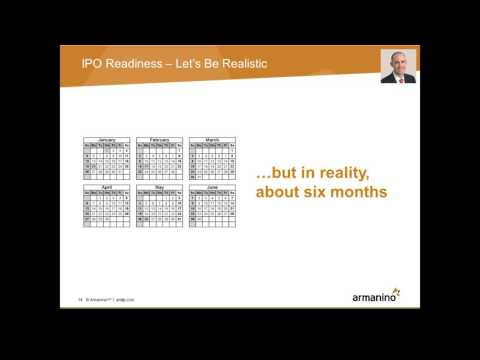 IPO Reality Check How Finance Can Lead by Removing Roadblocks
