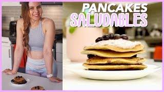 🥞 Receta de PANCAKES SALUDABLES Pancakes Fitness rápidos y DELICIOSOS 🥞