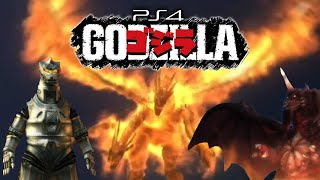 [PS4] ALL Monster Intros - GODZILLA