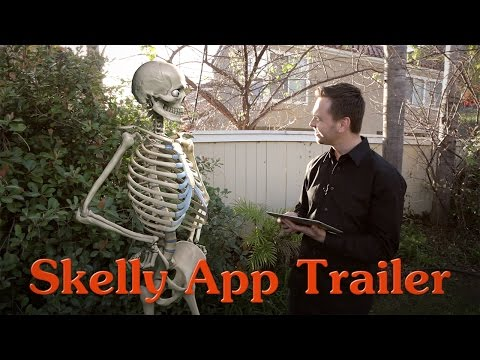 Skelly App Trailer - Posable Anatomy Model for Artists