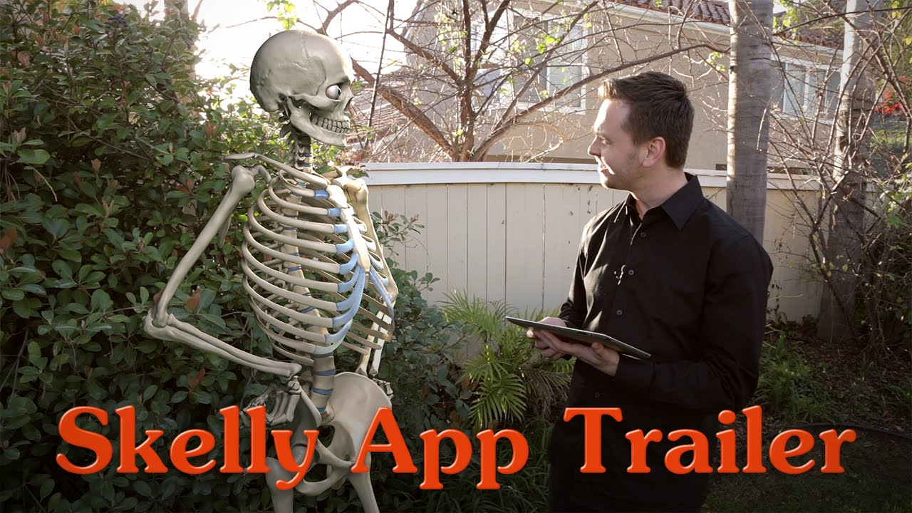 Skelly App Trailer Posable Anatomy Model For Artists Youtube