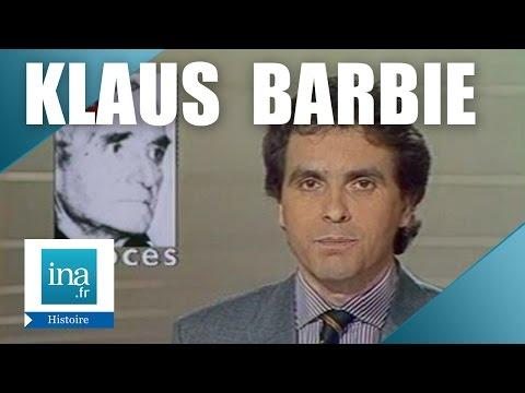 Les préparatifs du procès de Klaus Barbie   Archive INA