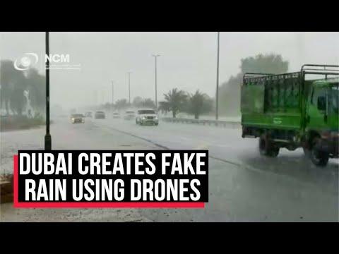 WATCH: Dubai creates fake rain using drones to beat 50-degree heat | Cobrapost