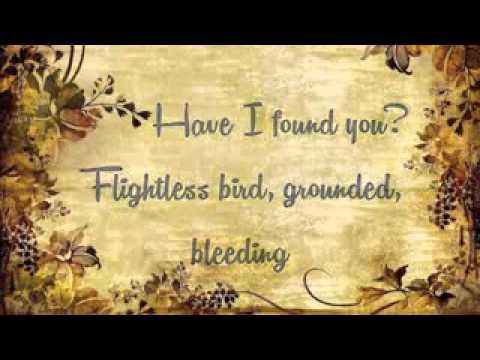 Flightless Bird, American Mouth-Iron and Wine (Lyrics)(Canción de Crepúsculo)