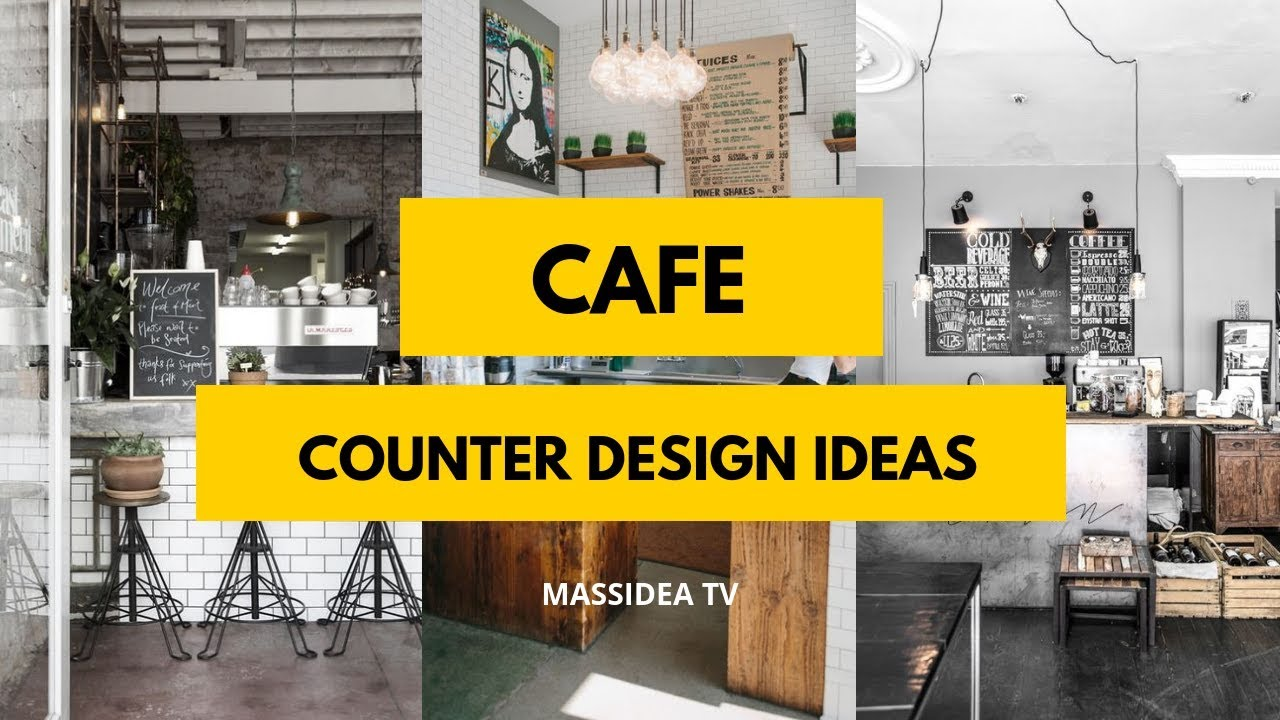 75+ Greatest Cafe Counter Design Ideas from Pinterest ...