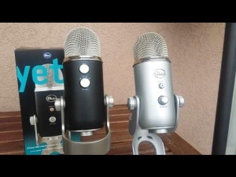 BLUE YETI PRO & BLUE YETI UNBOXING !! COMPARAISON !  Christodu69