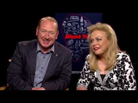 Blunt Talk  Jacki Weaver and Adrian Scarborough