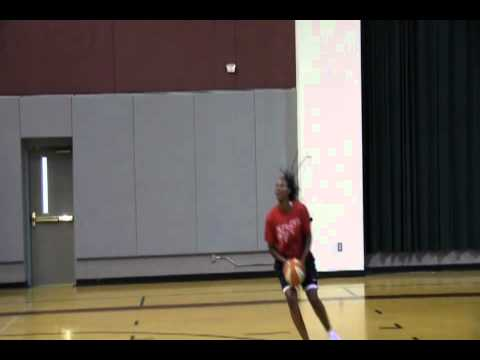 Chamique Holdsclaw Catch and Shooting