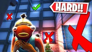 The HARDEST Fortnite Creative Map I've ever played! (Escape The Room Challenge)