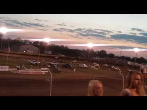 Sprint Car Feature Part 1/2  Kokomo Speedway