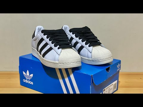 ADIDAS SUPERSTAR LACELESS WITH THIN
