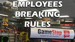 Tales from Retail: GameStop Employees Breaking Rules
