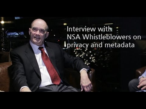 Interview with NSA Whistleblowers on privacy and metadata (with subtitles)