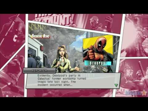 Marvel vs Capcom 3 - Deadpool Ending - 동영상