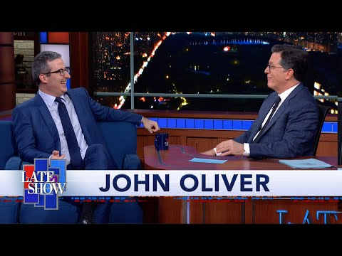 "John Oliver's First Crush Was Eeyore From ""Winnie-the-Pooh"""
