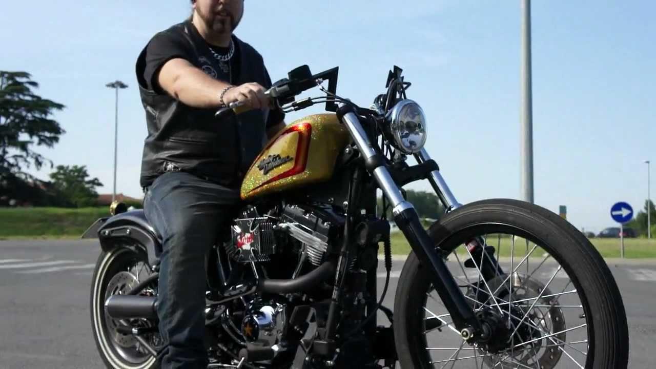 My 2011 Harley Davidson Fxs Blackline Customized Video