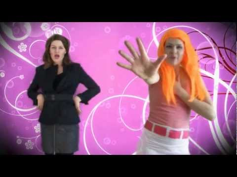 Busted - Candace & Vanessa in real life (Phineas & Ferb music video)