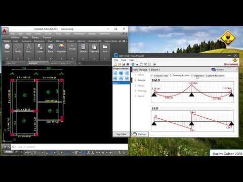 Concrete Beam Design (CBD) - شرح برنامج تحليل و تصميم الكمرات الخرسانيه طبقاً للكود المصري