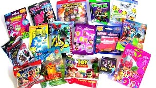 blind bags collection mashems toy story spongebob mlp miles from tomorrow marvel disney wikkeez