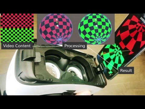 Create a spherical stereoscopic video player for Gear VR in Unity3D