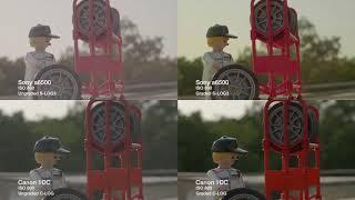 Sony vs Canon (S-Log3 vs C-Log)