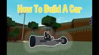 How To Build A Car | Build A Boat For Treasure ROBLOX