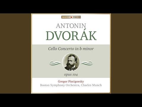 Cello Concerto In B Minor, Op. 104, B. 191: III. Finale. Allegro Moderato