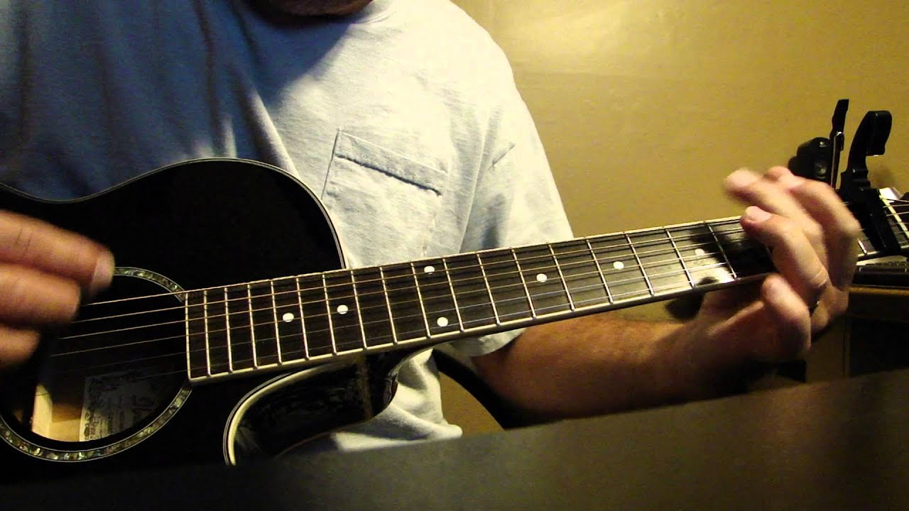 How To Play Colder Weather By The Zac Brown Band Youtube