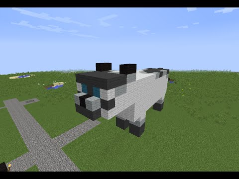 tuto minecraft statue du chat blanc youtube. Black Bedroom Furniture Sets. Home Design Ideas