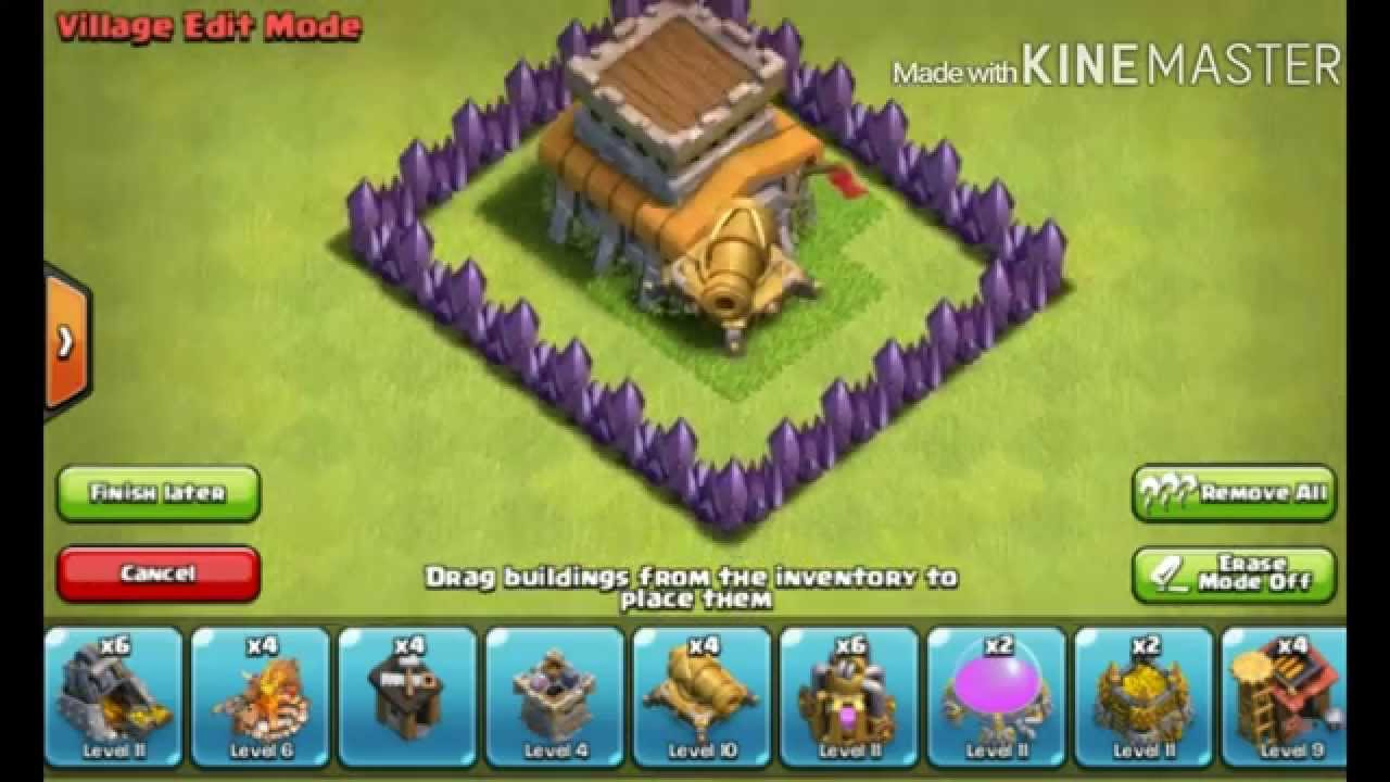 Cara Membuat Base Coc Th 8 10