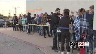 South Tulsa shoppers notice shorter lines at some Black Friday locations