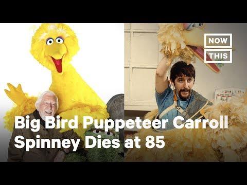 Caroll Spinney Big Bird Puppeteer Sesame Street Legend