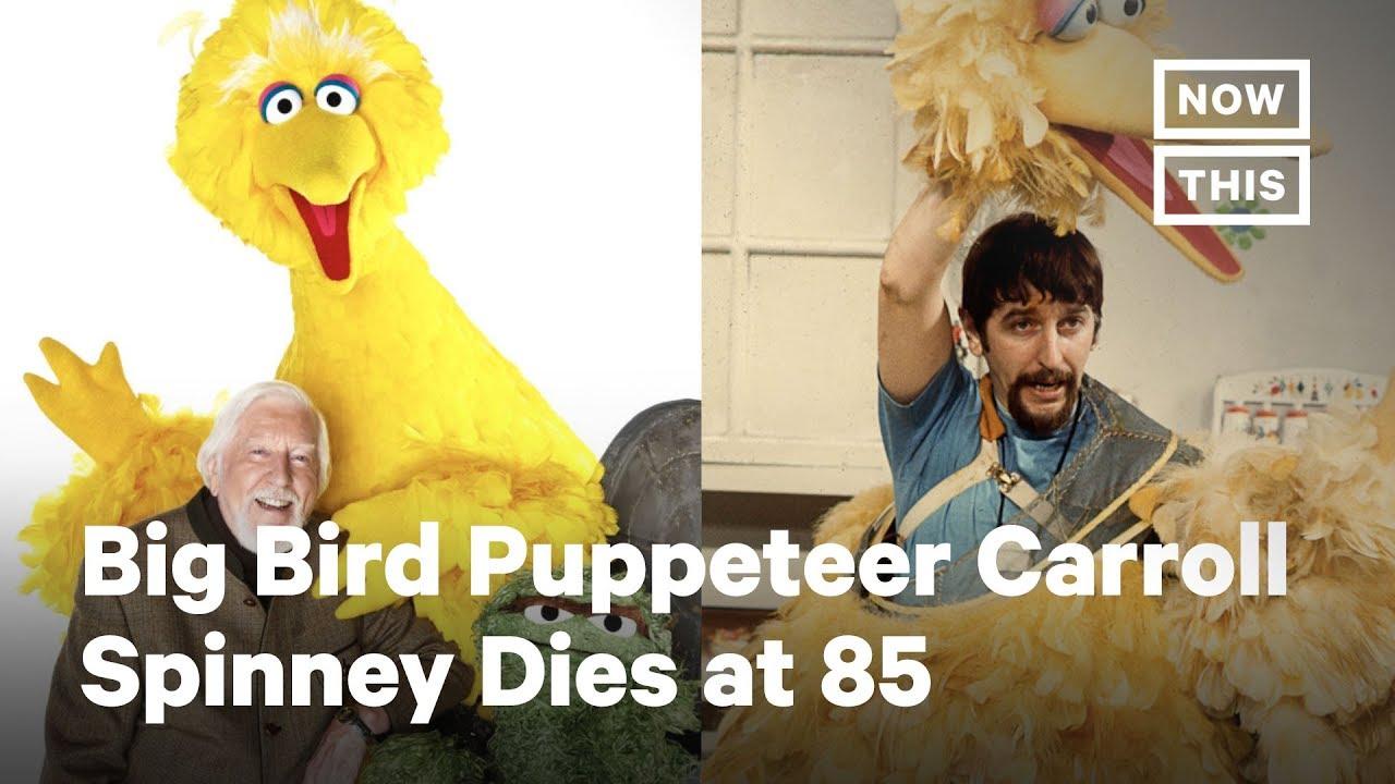 Caroll Spinney Big Bird Puppeteer Sesame Street Legend Dies At 85 Nowthis