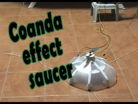 Coanda effect saucer project