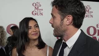 The Old Man the Gun NYC Premiere Casey Affleck