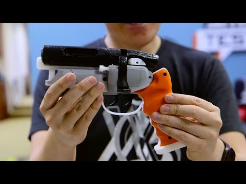 Tested Mailbag: 3D-Printed Blaster!