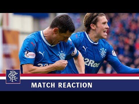 REACTION | Graham Dorrans | Motherwell 1-2 Rangers