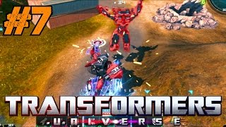 Transformers Universe BETA Gameplay Ep.7 | Multiplayer Meteor Storm on Drummond Gorge [PC HD]