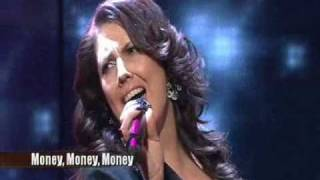 Linda Andrews from X factor 2009 -Money Money Money