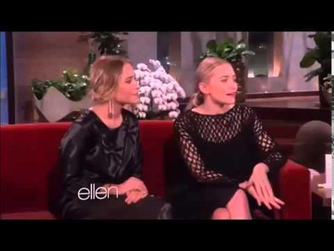 """Mary-Kate & Ashley Olsen FULL Interview on """"The Ellen DeGeneres Show"""" (April 25, 2014)"""