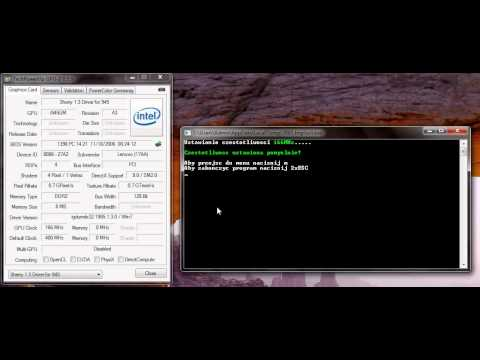 Intel 945 Graphics OC Tool (GMABooster alternative)