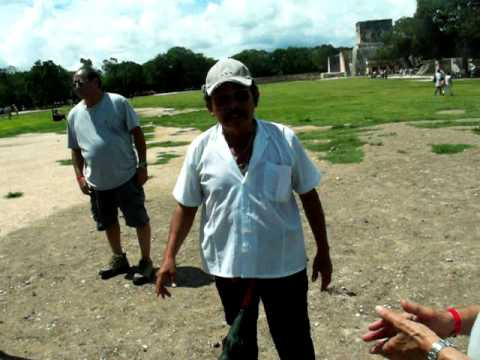 Echo Phenomenon Outside Great Pyramid of Chichen Itza Demonstrated